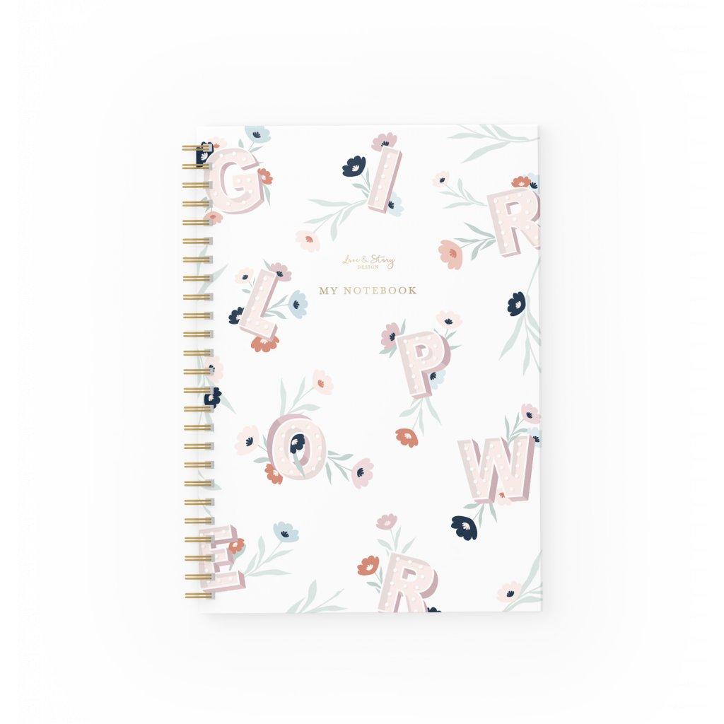 Zápisník Girl Power