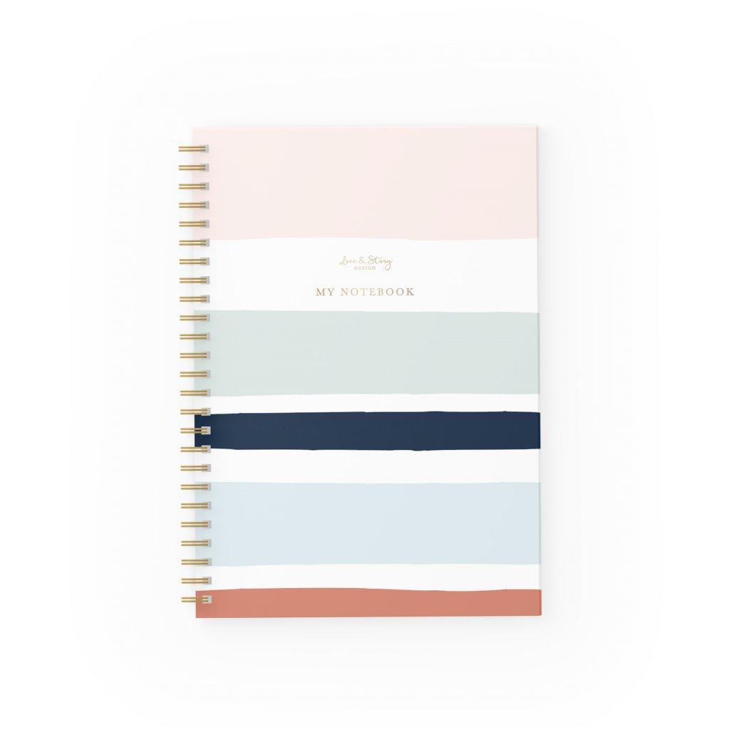 Zápisník Lines