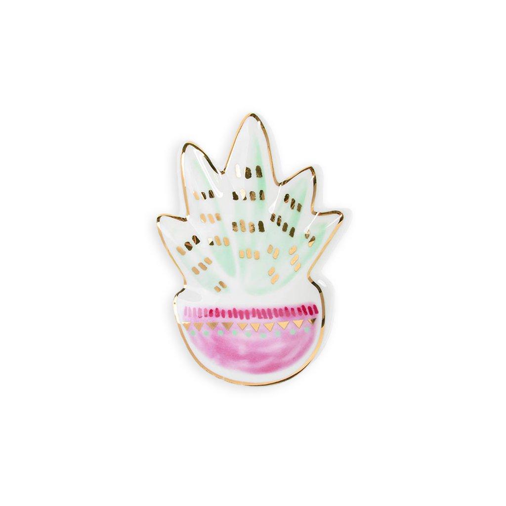 Talířek na šperky Succulent