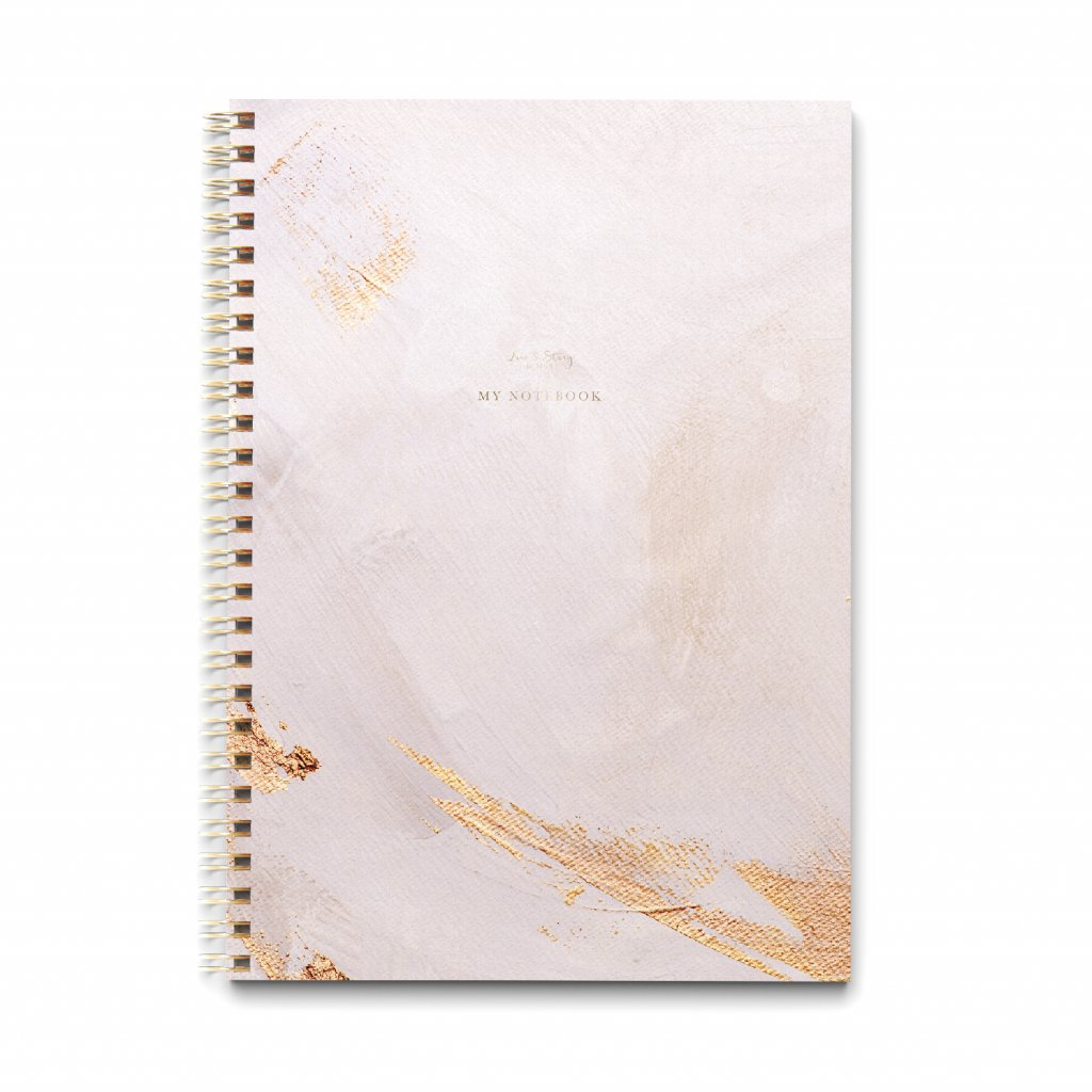 Zápisník A4 Blush Pink