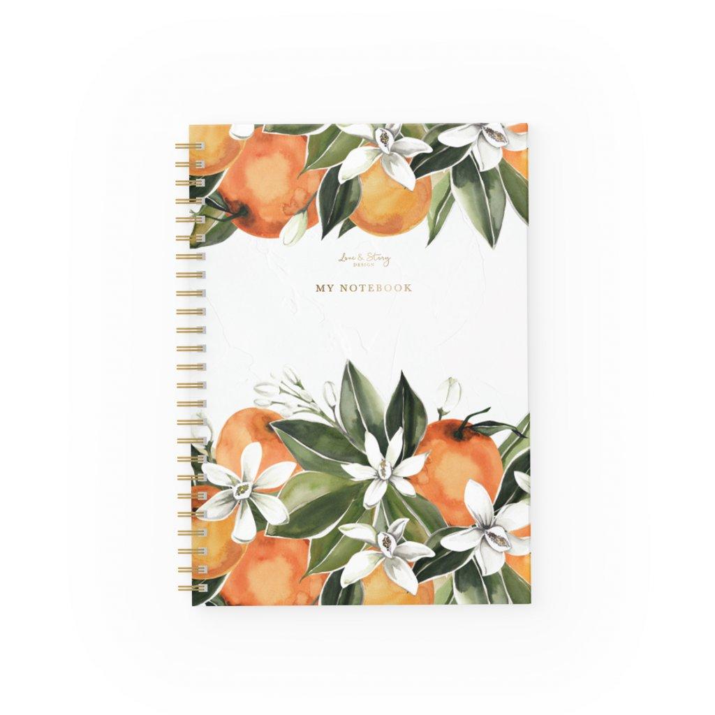 Zápisník Orange