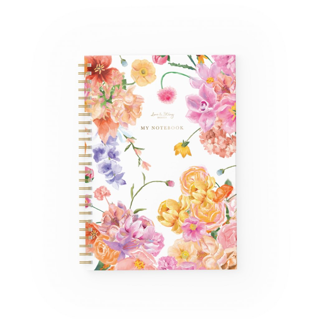 Zápisník Spring Flower