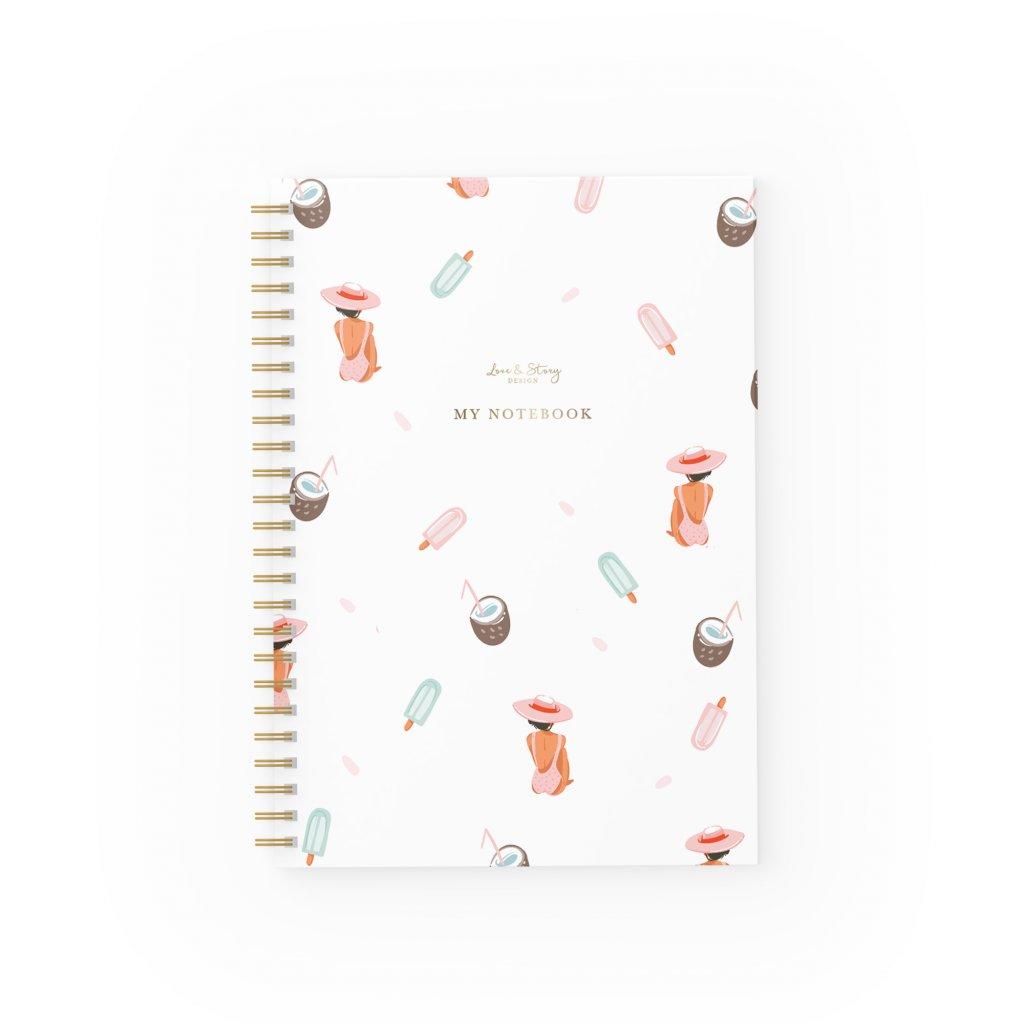 Zápisník Summer
