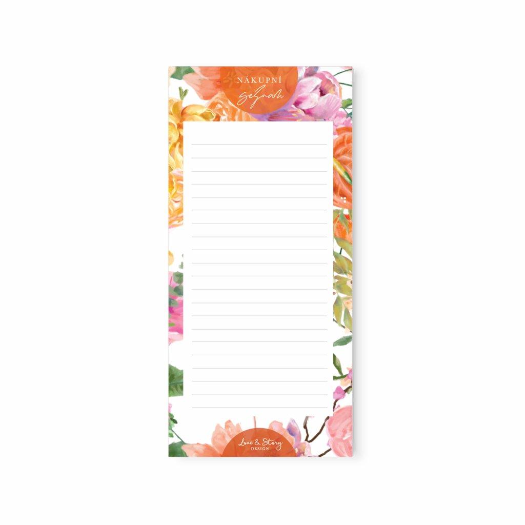 Sada Shopping List Spring Garden
