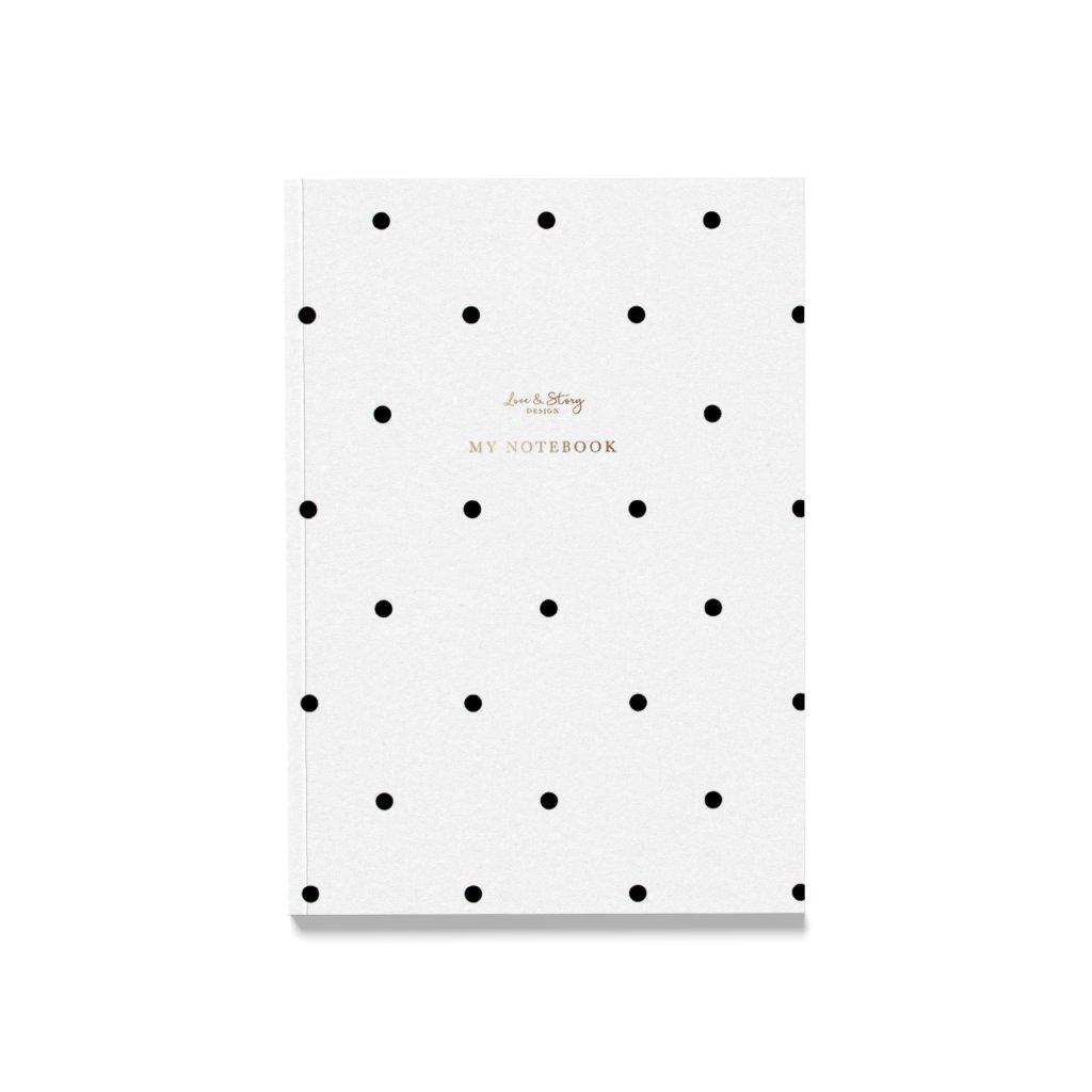 Zápisník Polka Dot