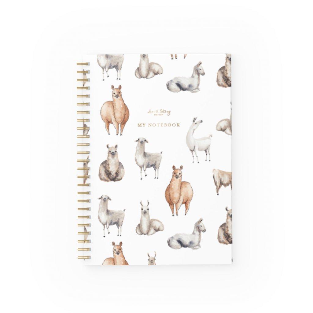 Zápisník Llama