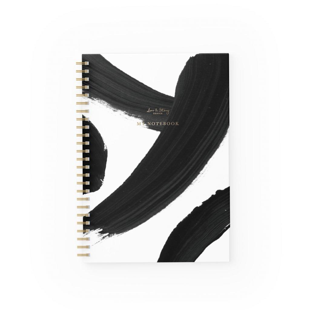 Zápisník Black & White