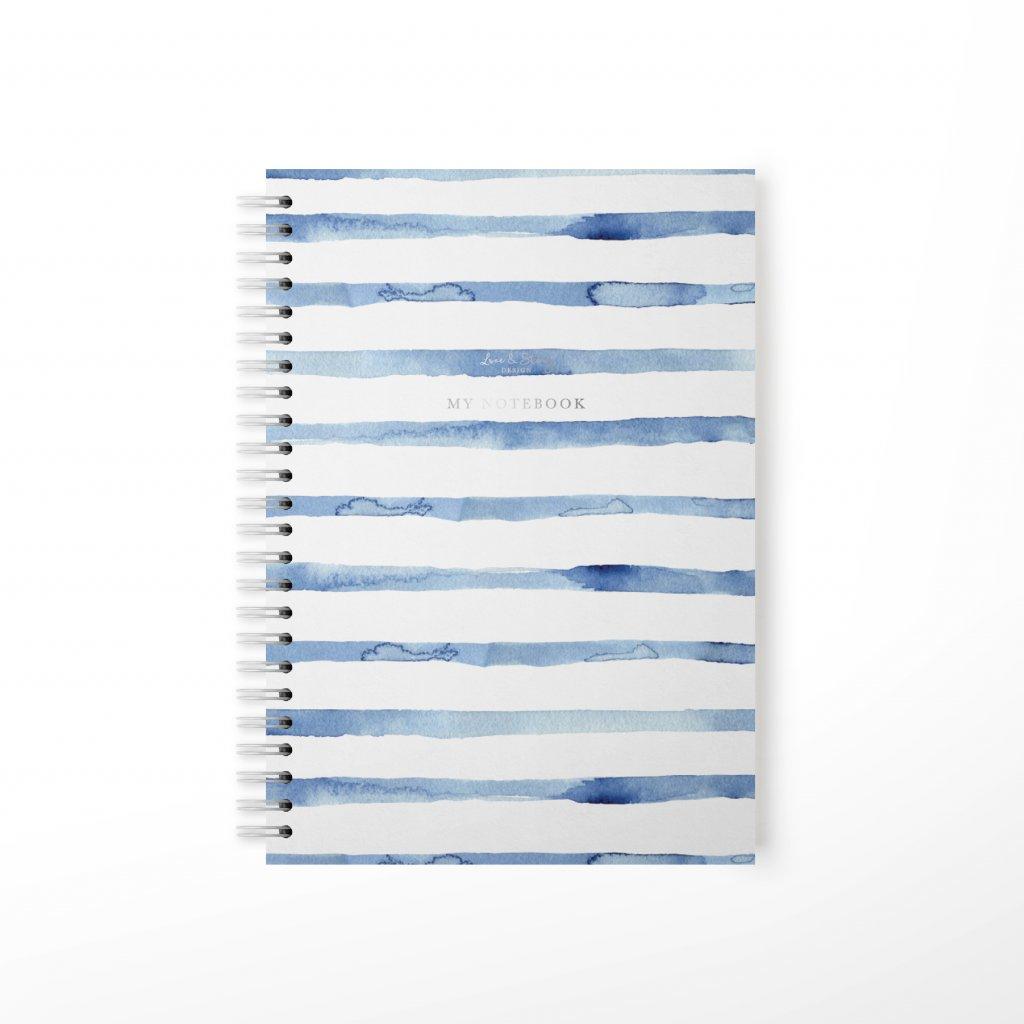 Zápisník Navy Blue