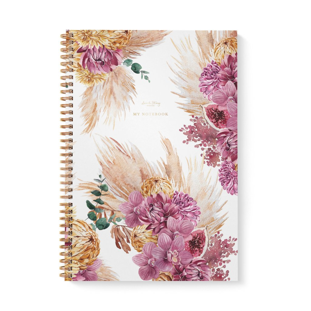 Zápisník A4 Pampas