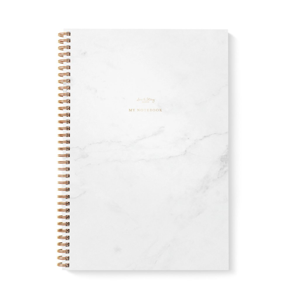 Zápisník A4 Marble