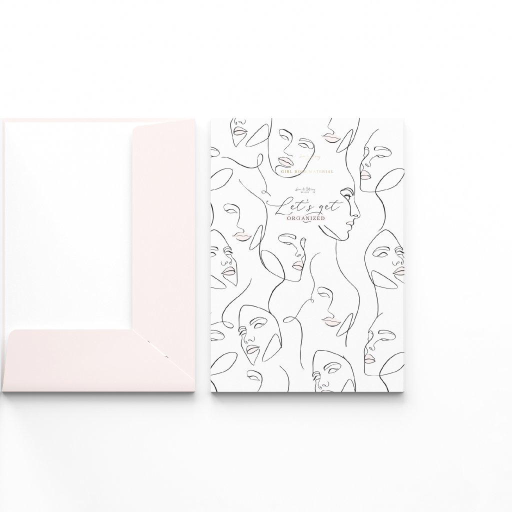 Folder Mockup line art
