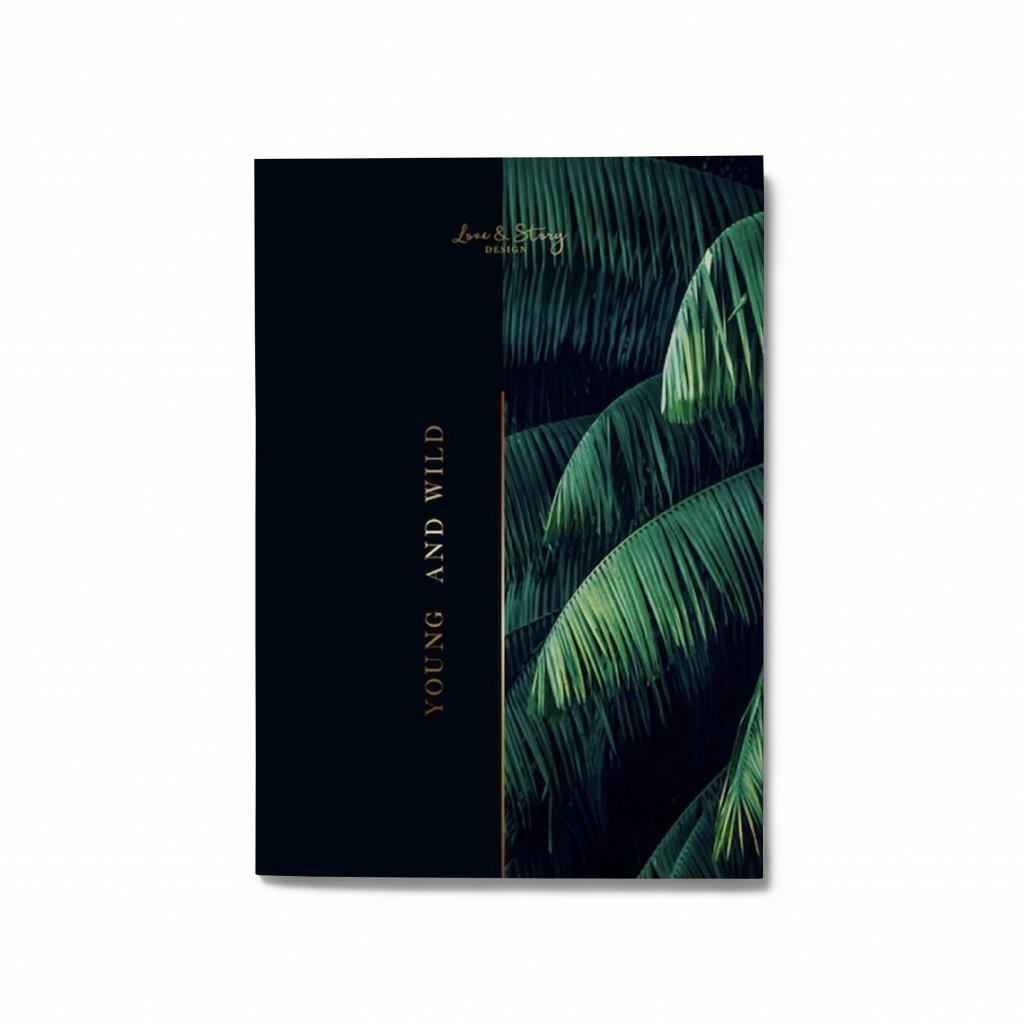 Zápisník Wild Jungle