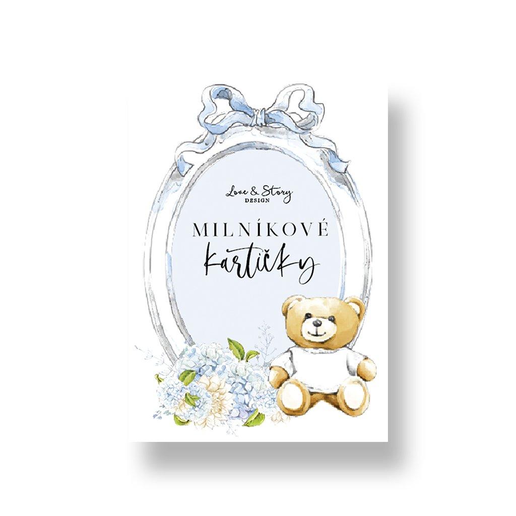 Milníkové kartičky pro chlapečka