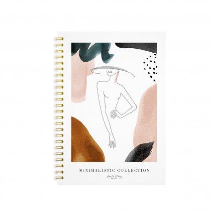 Zápisník s kroužkovou vazbou Classy