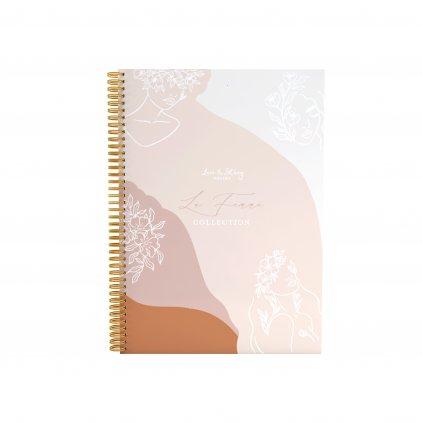Zápisník s kroužkovou vazbou La Femme