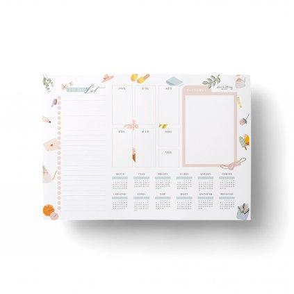 Stolní týdenní plánovač Seasons