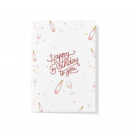 Přání Happy Birthday