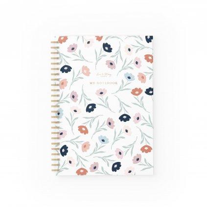 Zápisník Flowers