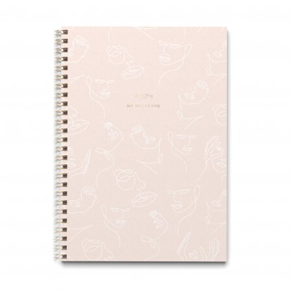 Zápisník A4 Line Art