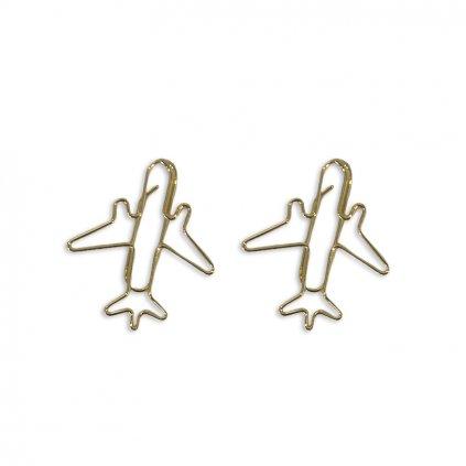 Zlaté svorky Letadlo