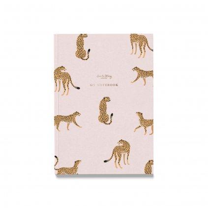 Zápisník Pink Cheetah