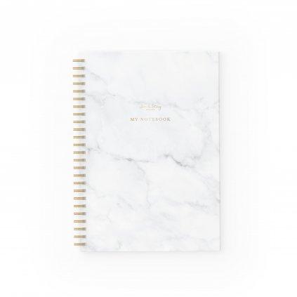 Zápisník Marble
