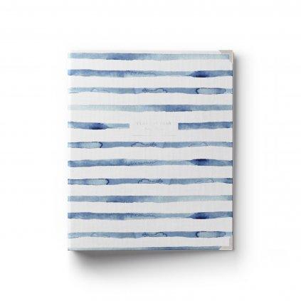 Šanonový diář a zápisník 2v1 Navy Blue anglický