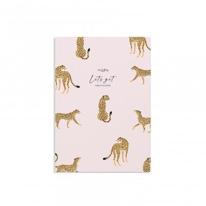 slozka cheetah cover white