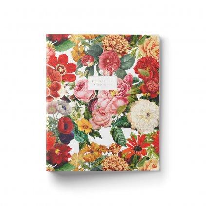 Šanonový diář Flower Garden anglický