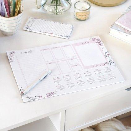 Stolní týdenní plánovač