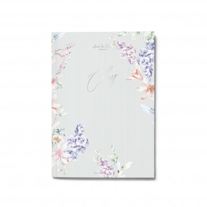 Zápisník Floral