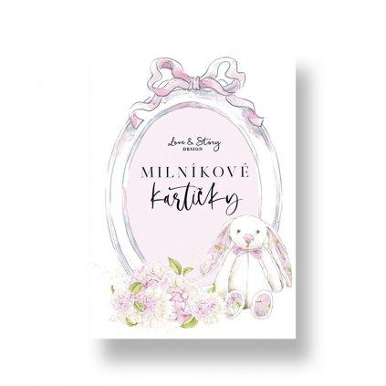 Milníkové kartičky pro holčičku