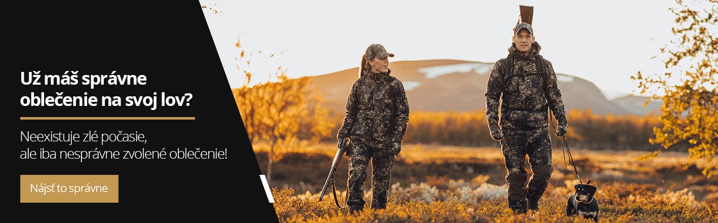 Oblečenie pre poľovníctvo