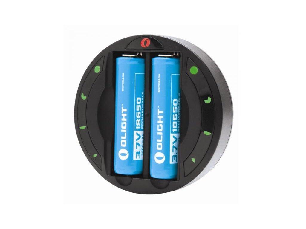 Univerzálna nabíjačka batérií OLIGHT OMNI-DOK CR123, 18650, AA, AAA