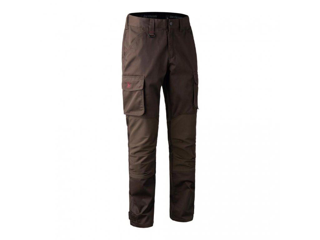 DEERHUNTER Rogaland Stretch Trousers Brown | nohavice