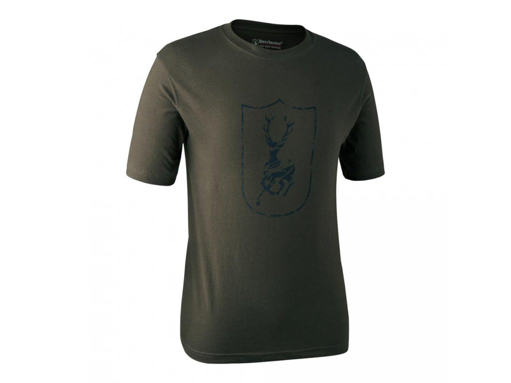 DEERHUNTER Logo T Shirt Shield S/S Shield | tričko