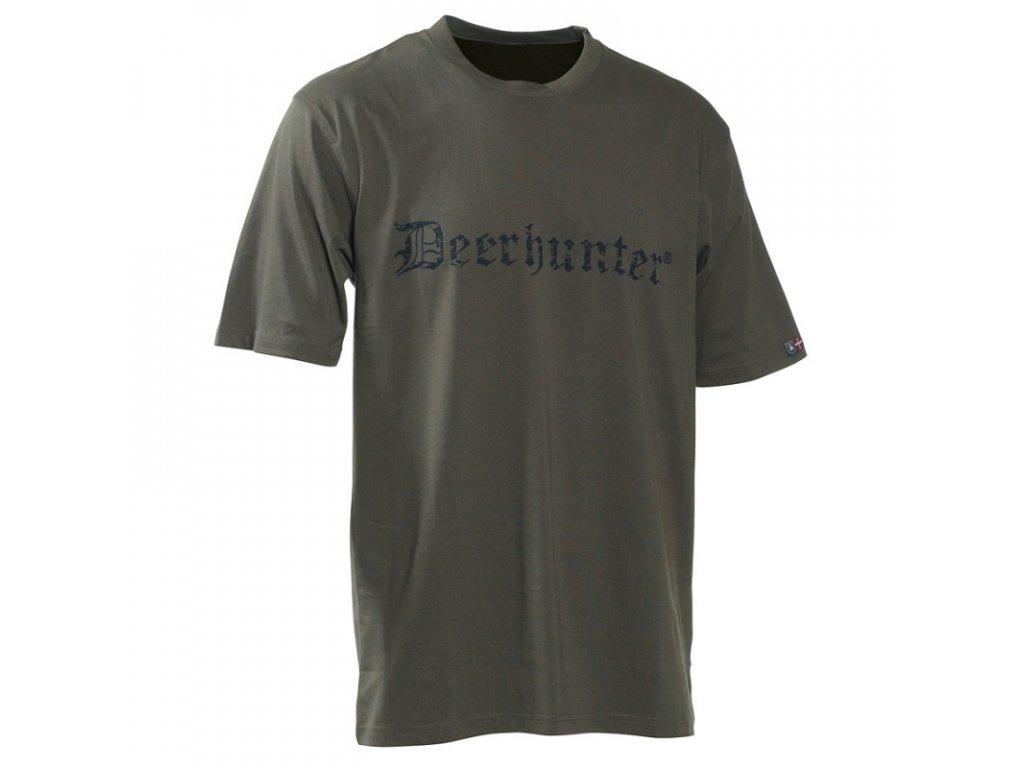DEERHUNTER Deerhunter Logo T-Shirt | tričko s nápisom