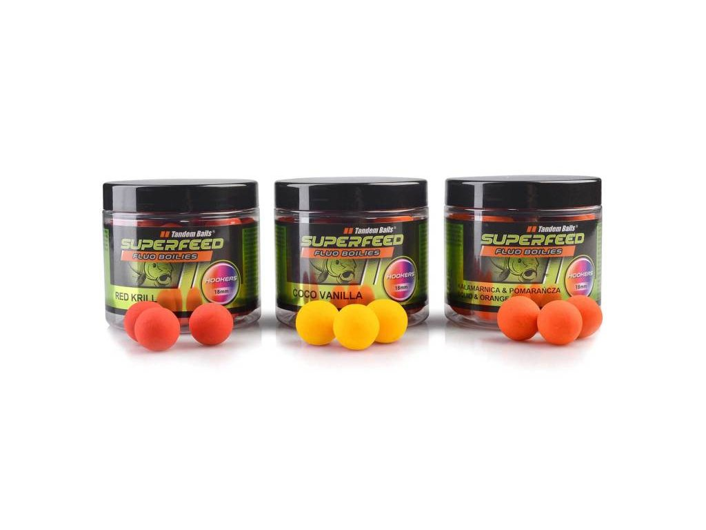 SuperFeed Fluo Hookers 18mm / 120g