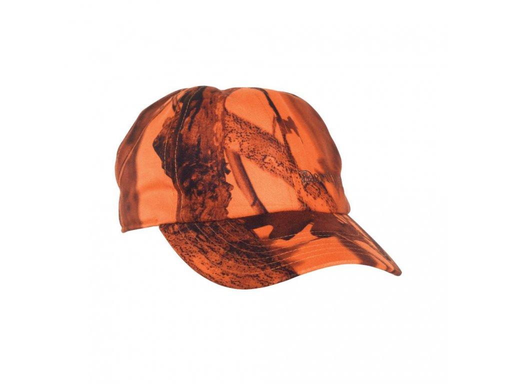 DEERHUNTER Cumberland Neck Cover Blaze Cap | poľovnícka šiltovka