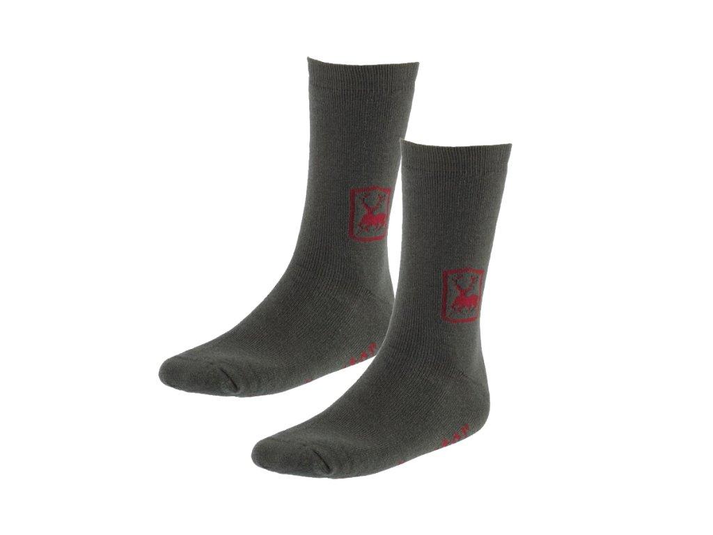 Deerhunter Socks 2 balenie 20cm - ponožky krátke