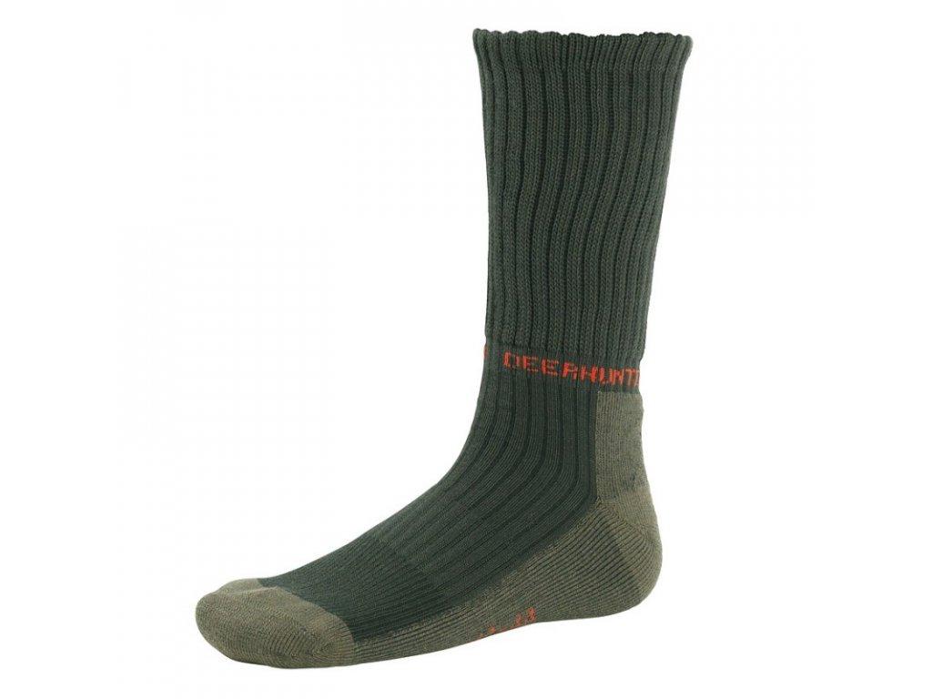 DEERHUNTER Game Socks Green   poľovnícke ponožky