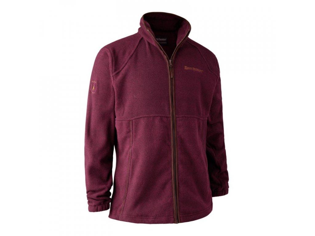 Deerhunter Wingshooter Fleece Jacket Red - bunda