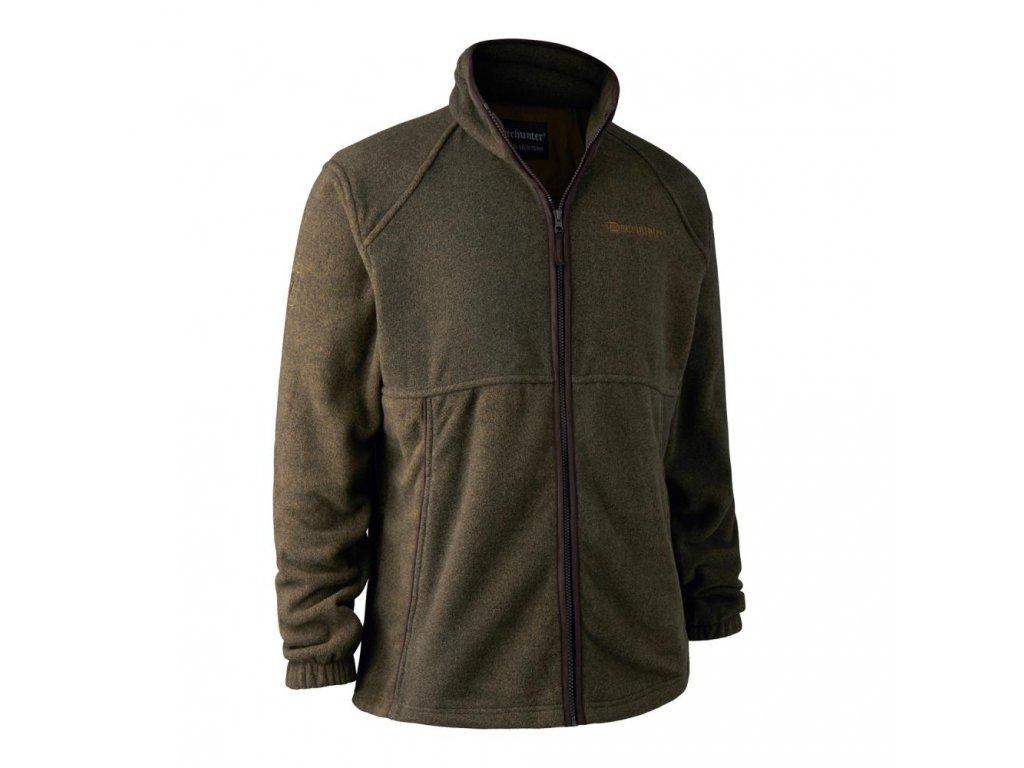 DEERHUNTER Wingshooter Fleece Jacket Green | flísová bunda