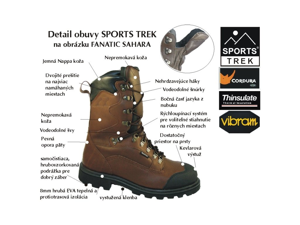 Sportstrek obuv FANATIC č.40