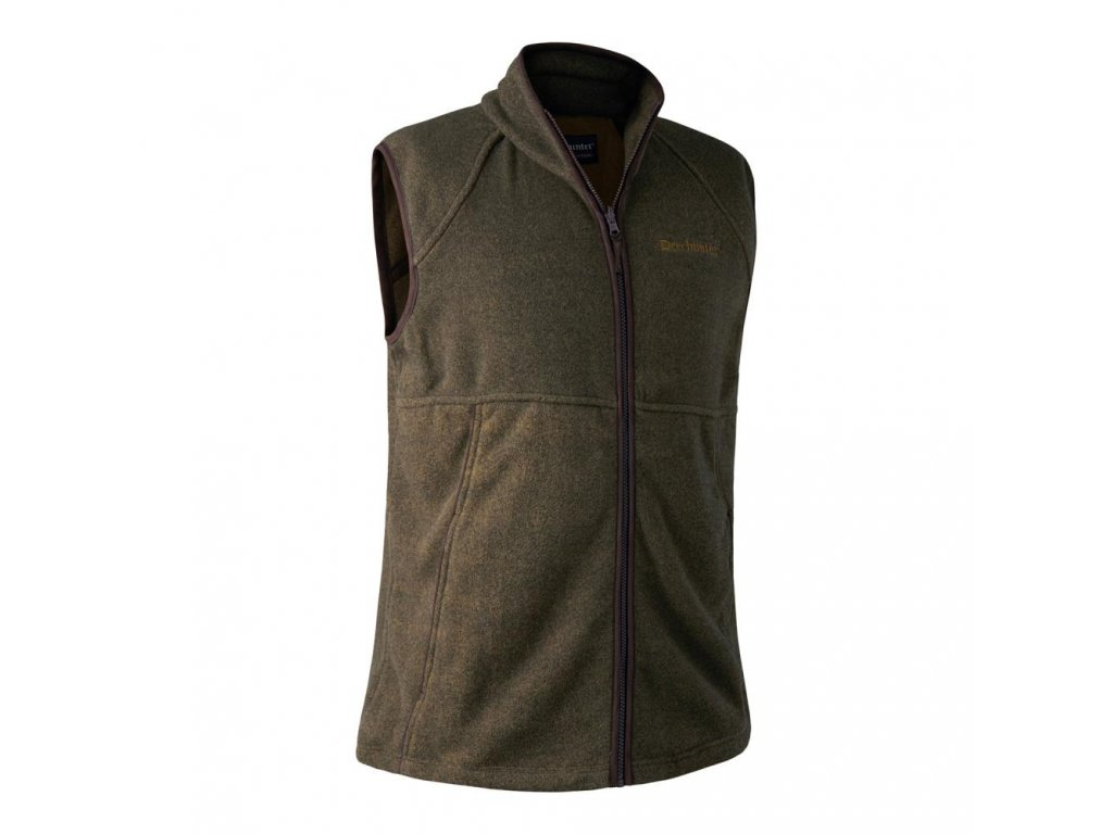 deerhunter wingshooter fleece waistcoat green vesta