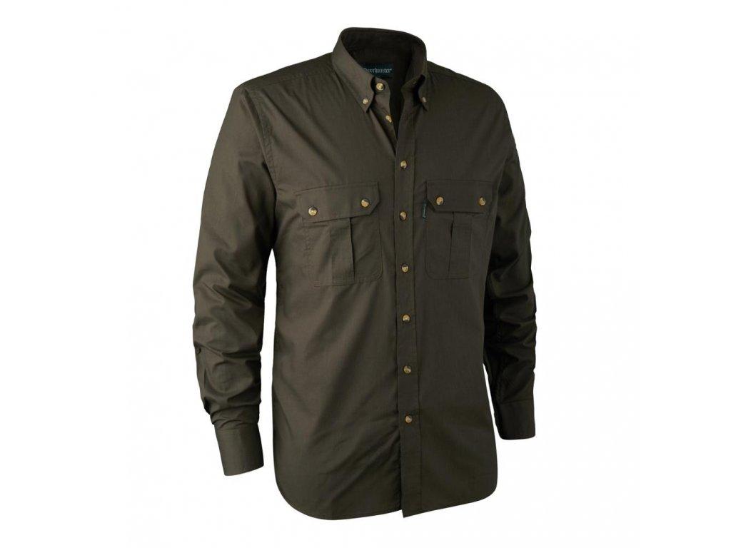 DEERHUNTER Clark Shirt Elm | poľovnícka košeľa