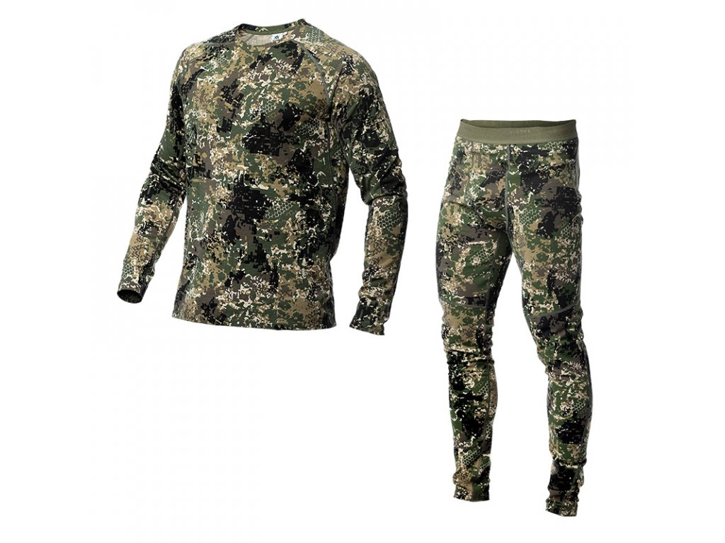 men drirelease baselayer set camo
