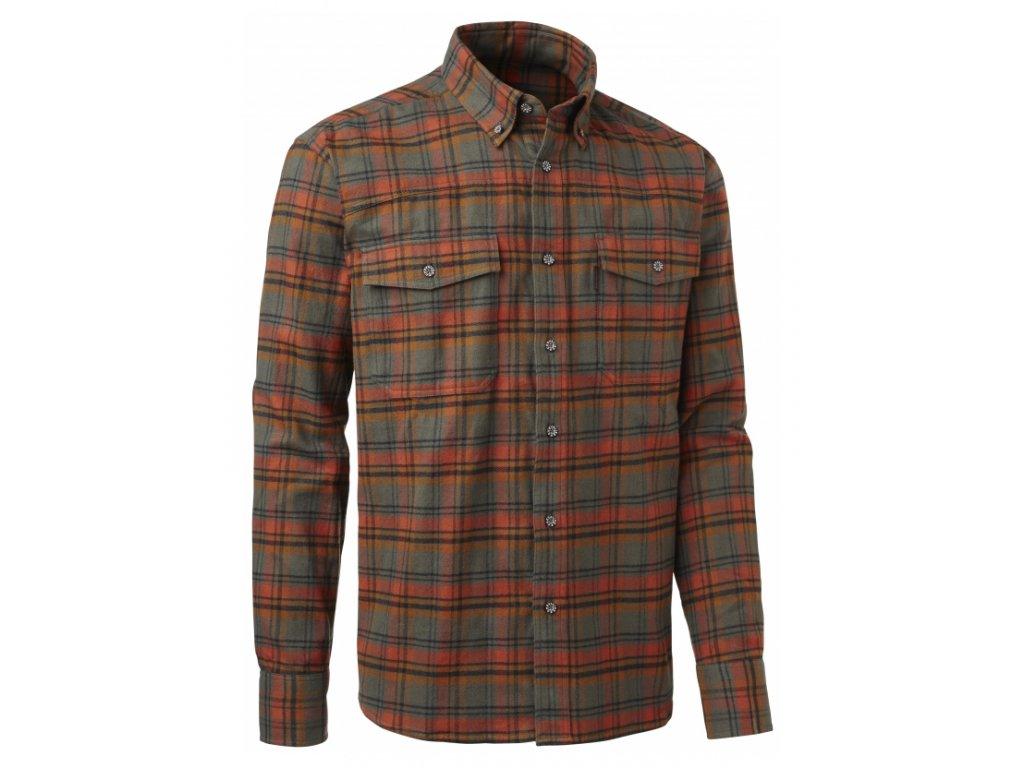 chevalier moosdale twill shirt bd ls