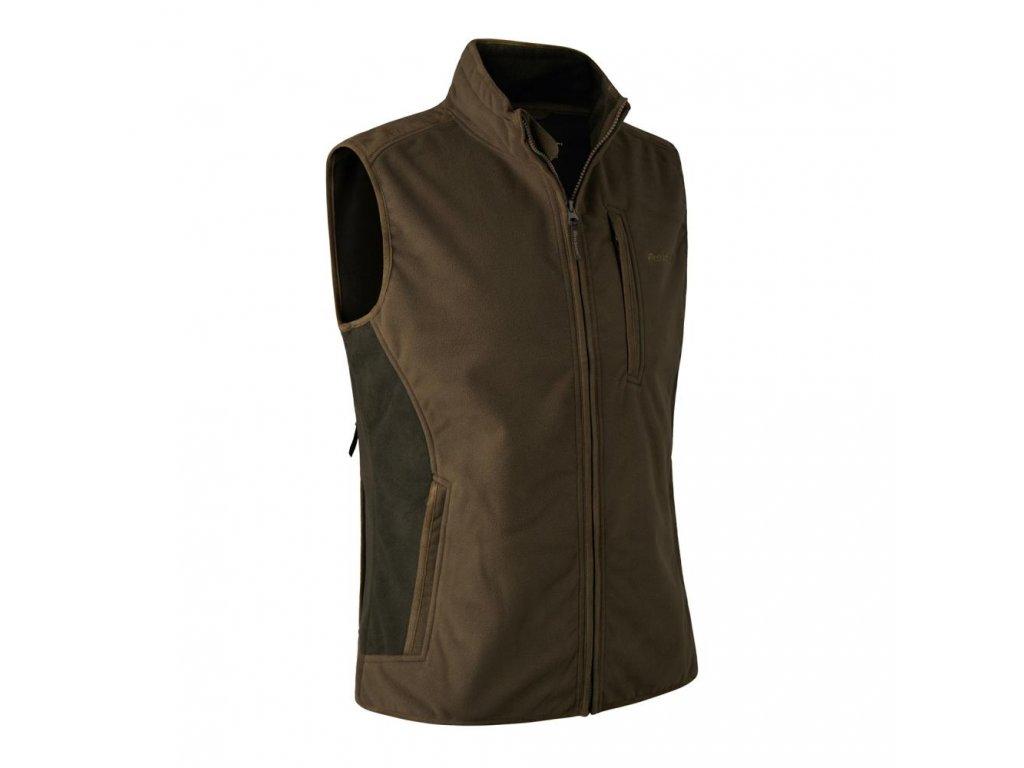 DEERHUNUTER Gamekeeper Bonded Fleece Waiscoat | poľovnícka vesta