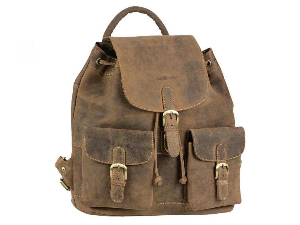 GREENBURRY 1711 - kožený ruksak